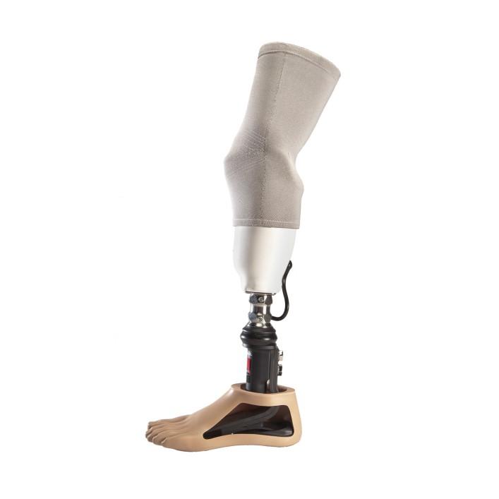 Transtibial vacuum prosthesis